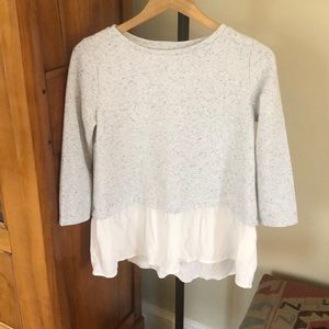 Loft long sleeves oversized top S